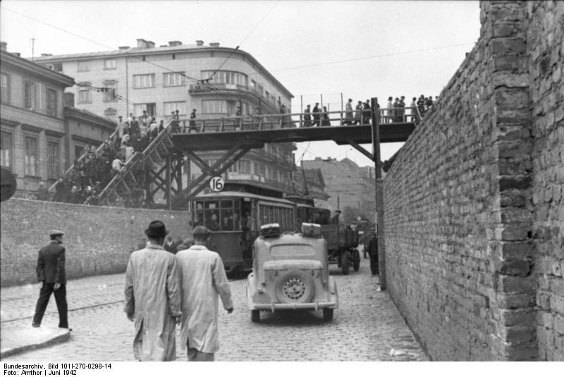 Polen, Ghetto Warschau, Brücke